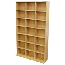 21 Cubby 588 CD / 378 DVD Media Storage Unit