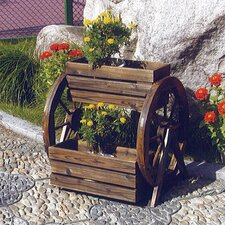 Cartwheel Planter