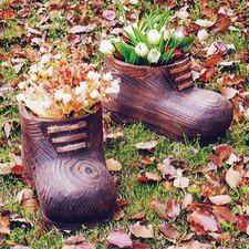 Gnome Shoe Planter