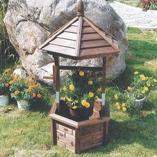 Wishing Well Garden Planter