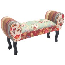 Roses Chaise Bench