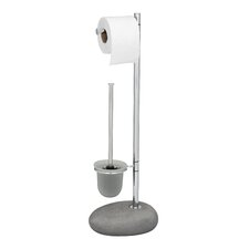 Pebble Stone Standing WC Brush