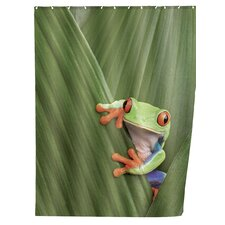 Frog Polyester Shower Curtain