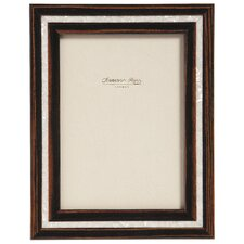 Ebony and Mother of Pearl Marquetry Photo Frame