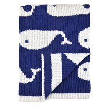 Just Born® High Seas Sweater Knit Jacquard Blanket