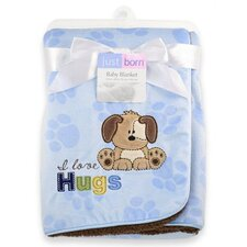 Just Born® 2 Ply Applique Valboa Blanket
