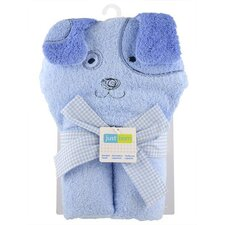<strong>Triboro</strong> Just Born Character Puppy  Hooded Towel
