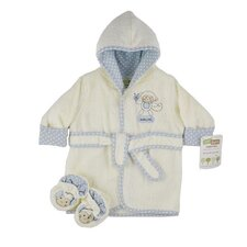 Just Born Organic Robe and Bootie Set