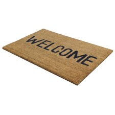 Welcome PVC Coir Indoor / Outdoor Mat