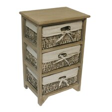 Maize 3 Drawer Chest