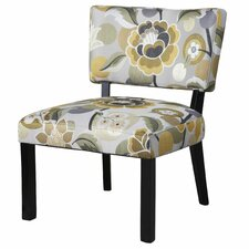 <strong>Powell Furniture</strong> Floral Slipper Chair