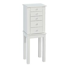 Cottage Jewelry Armoire