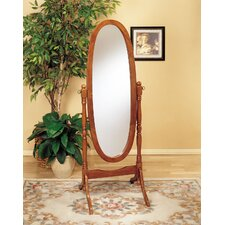 <strong>Powell Furniture</strong> Nostalgic Oak Cheval Mirror