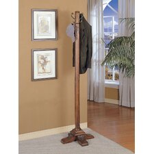 Woodbury Mahogany Coat Rack