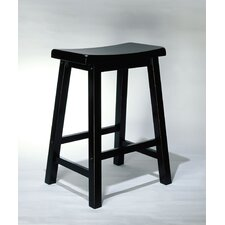 "Antique Black 24"" Counter Stool"