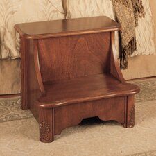 <strong>Powell Furniture</strong> Woodbury Mahogany Bed Step