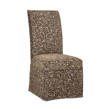 <strong>Powell Furniture</strong> Classic Seating Leaves Parson Chair Skirted Slipcover