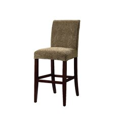 Classic Seating Checked Stool Slipcover