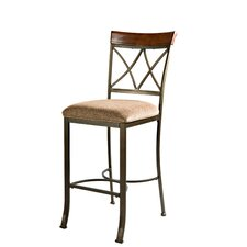 "<strong>Powell Furniture</strong> Cafe Hamilton 29"" Bar Stool with Cushion"
