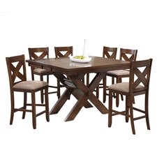 Kraven 7 Piece Counter Height Dining Set