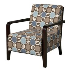 Bentwood Fabric Arm Chair