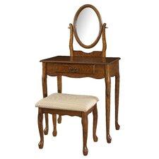 Woodland Vanity Set with Mirror