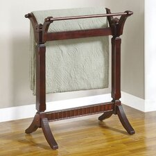 <strong>Powell Furniture</strong> Merlot Quilt Rack
