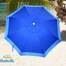 <strong>Solar Guard</strong> 7.5' Fiberglass Heavy Duty Beach Umbrella