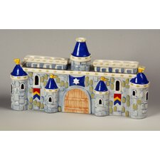 Ceramic Royal Castle Menorah