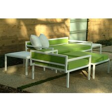 Talt Low Deep Seating Group with Cushions