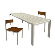 <strong>Modern Outdoor</strong> Luma 3 Piece Dining Set