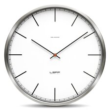 One Series Stainless Steel Index Wall Clock
