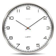 One Series Stainless Steel Arabic Wall Clock
