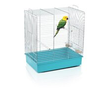 Dora 2 Cockatiel and Parakeet Cage in Chrome