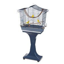 Sofia Bird Cage in Blue