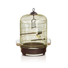 Milly Bird Cage in Brass