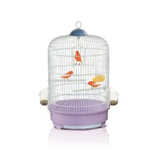 Milly Bird Cage in White