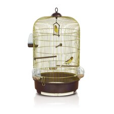 <strong>Imac</strong> Luna Canary Cage in Brass