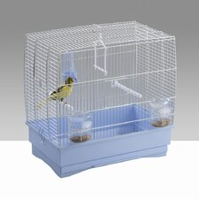 Irene 2 Bird Cage in Chrome