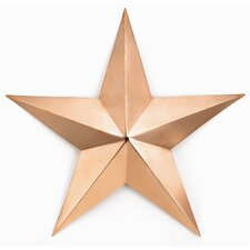 Copper Star Wall Décor
