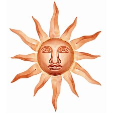 Sun Face Wall Decor