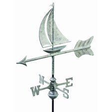 Sailboat Weathervane with Roof Mount