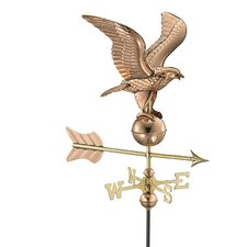<strong>Good Directions</strong> Eagle Weathervane with Roof Mount