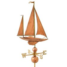 <strong>Good Directions</strong> Sailboat Estate Weathervane