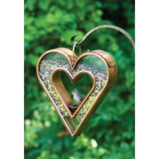 Heart Fly Thru Bird Feeder