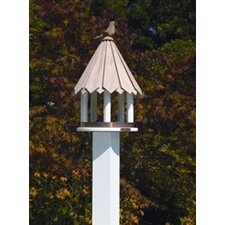 Lazy Hill Farm Dove Bird House Post