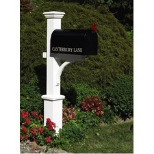 Lazy Hill Farm Canterbury Mailbox Post