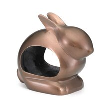 Enchanted Rabbit Decorative Bird Feeder