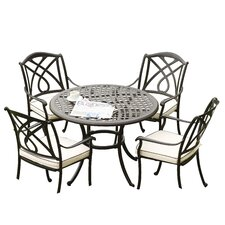 Naunton Manor 5 Piece Dining Set I
