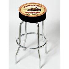 "Busted Knuckle Garage 25"" Swivel Bar Stool"